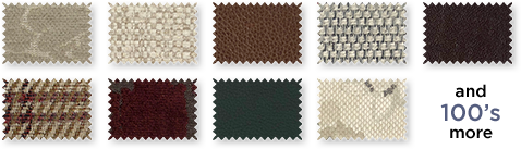 Fabric & leather swatches