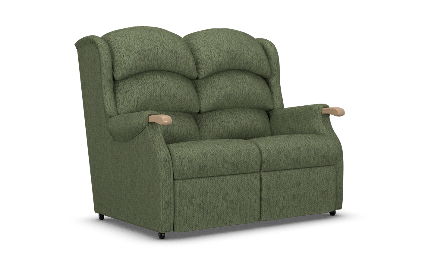 Linton Two Seater Comfort Sofa Available In Fabric Or