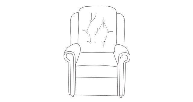 Hampton Relax Comfort Chair diagram