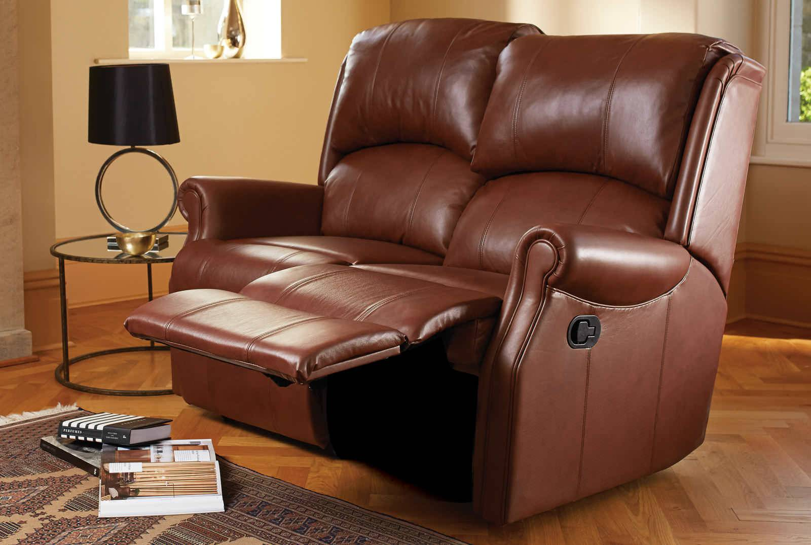Merveilleux Recliner Couches. Berwick Two Seater Catch Recliner Sofa In New England  Teak Couches