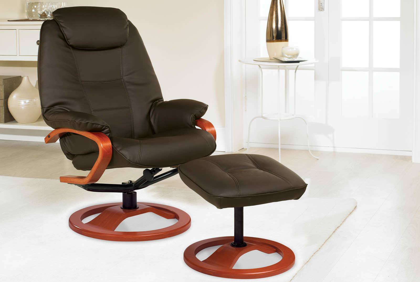 ... Haydock Luxury Reclining Swivel Chair in Chocolate Leather ... & Haydock Luxury Reclining Swivel Chair | HSL islam-shia.org