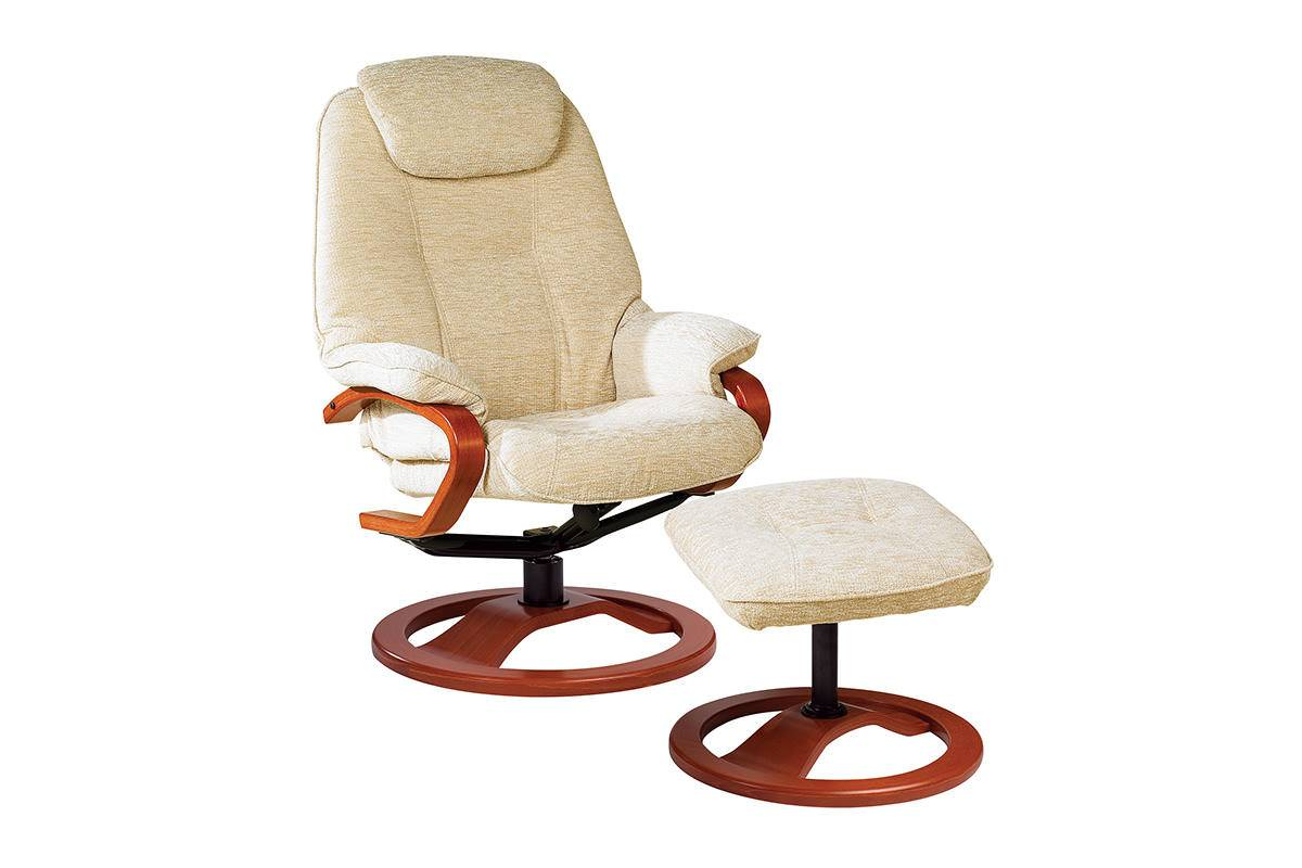 Haydock Luxury Reclining Swivel Chair