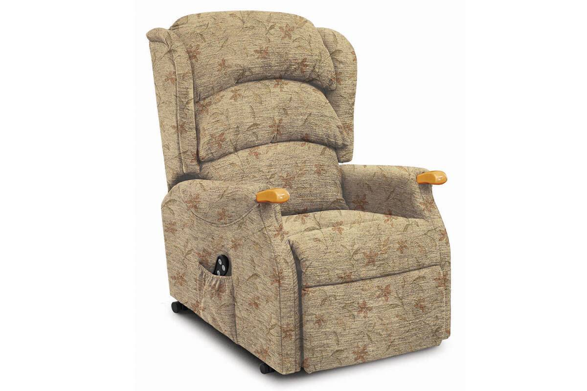 Linton Dual Motor Riser Recliner in Arizona Sand