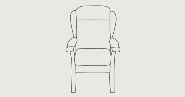 Oakdale Comfort Chair dimensions