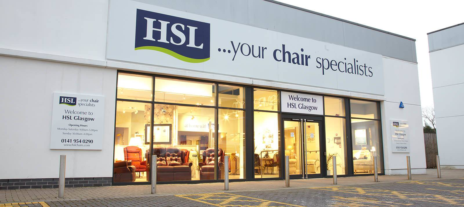 Hsl chairs recliners hsl glasgow store source hsl for Beds glasgow