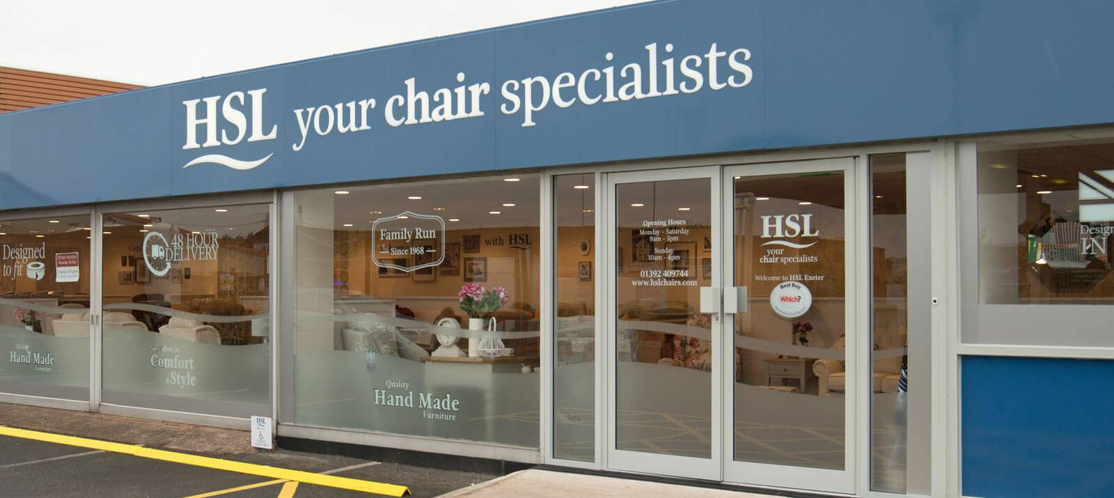 HSL Exeter Store