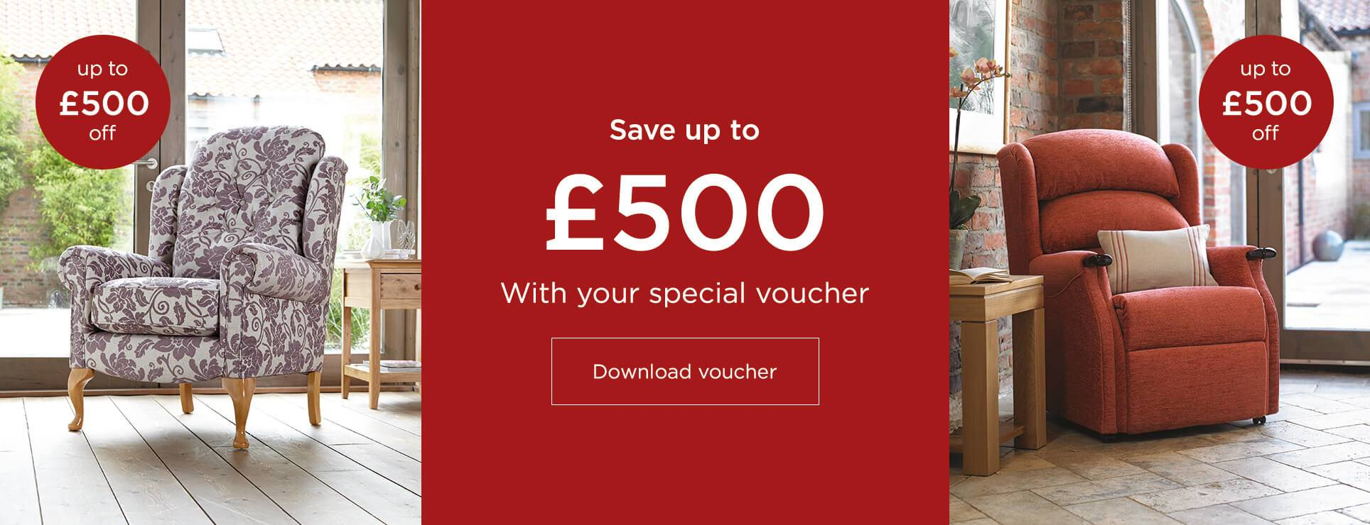 Save up to £500