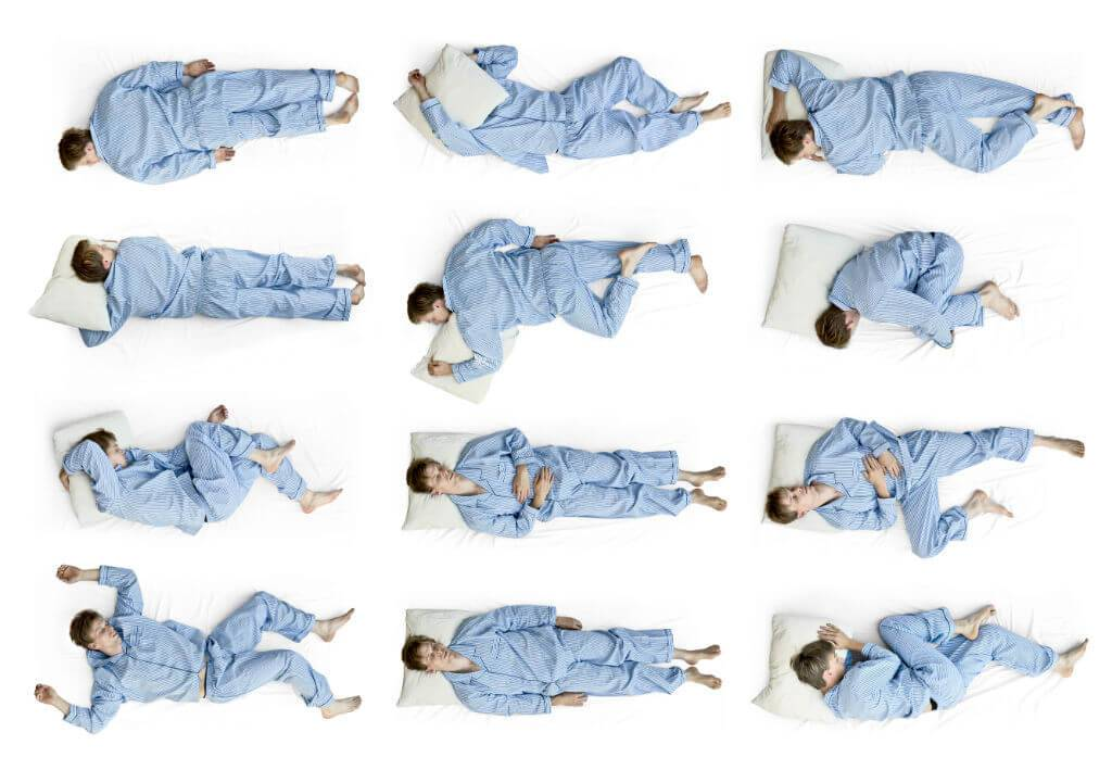 Sleeping Positions: The good, the bad & the ugly!