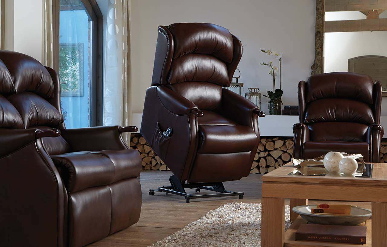 Sit, relax, snooze or sleep in your Riser Recliner