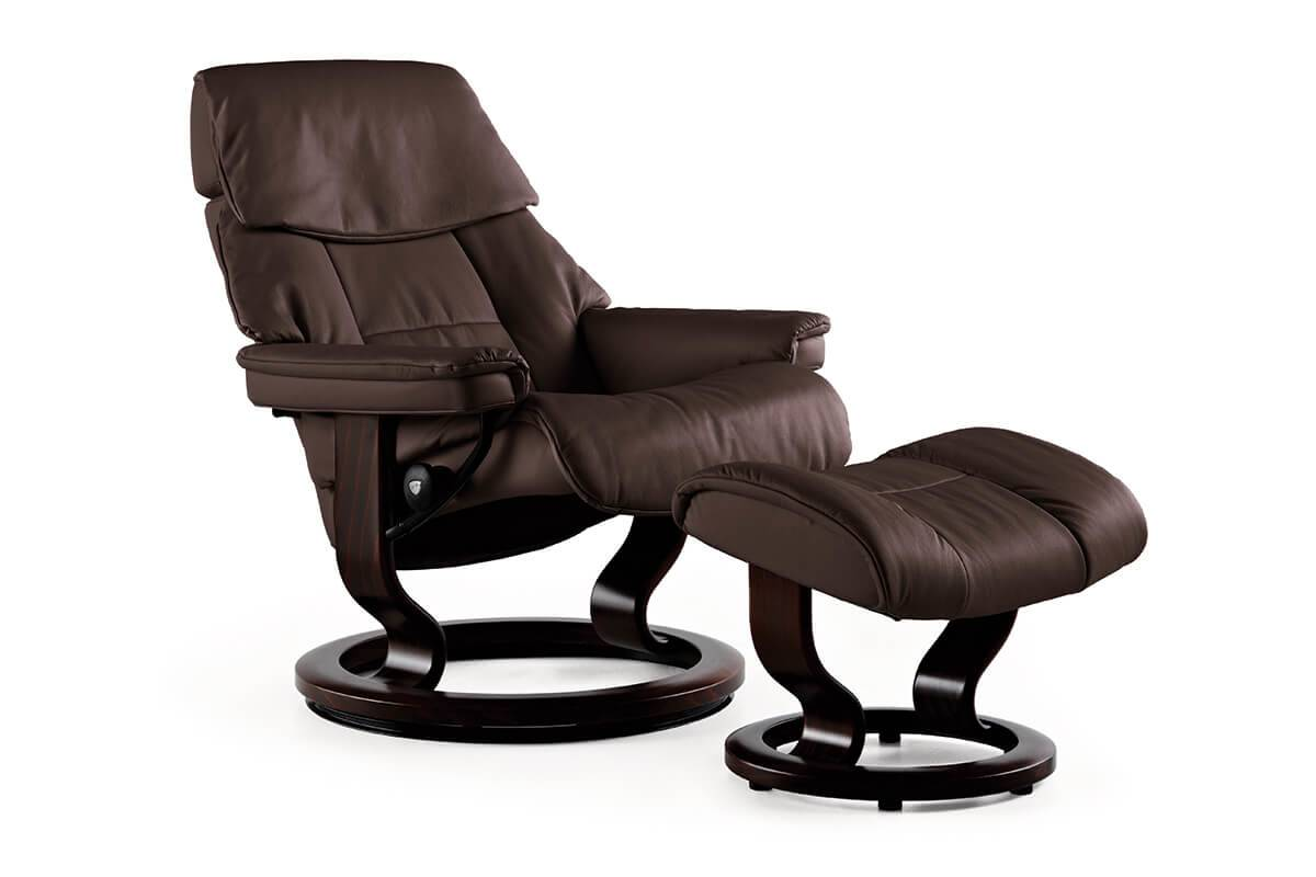 Gallery Ruby Classic Recliner in Paloma Chocolate