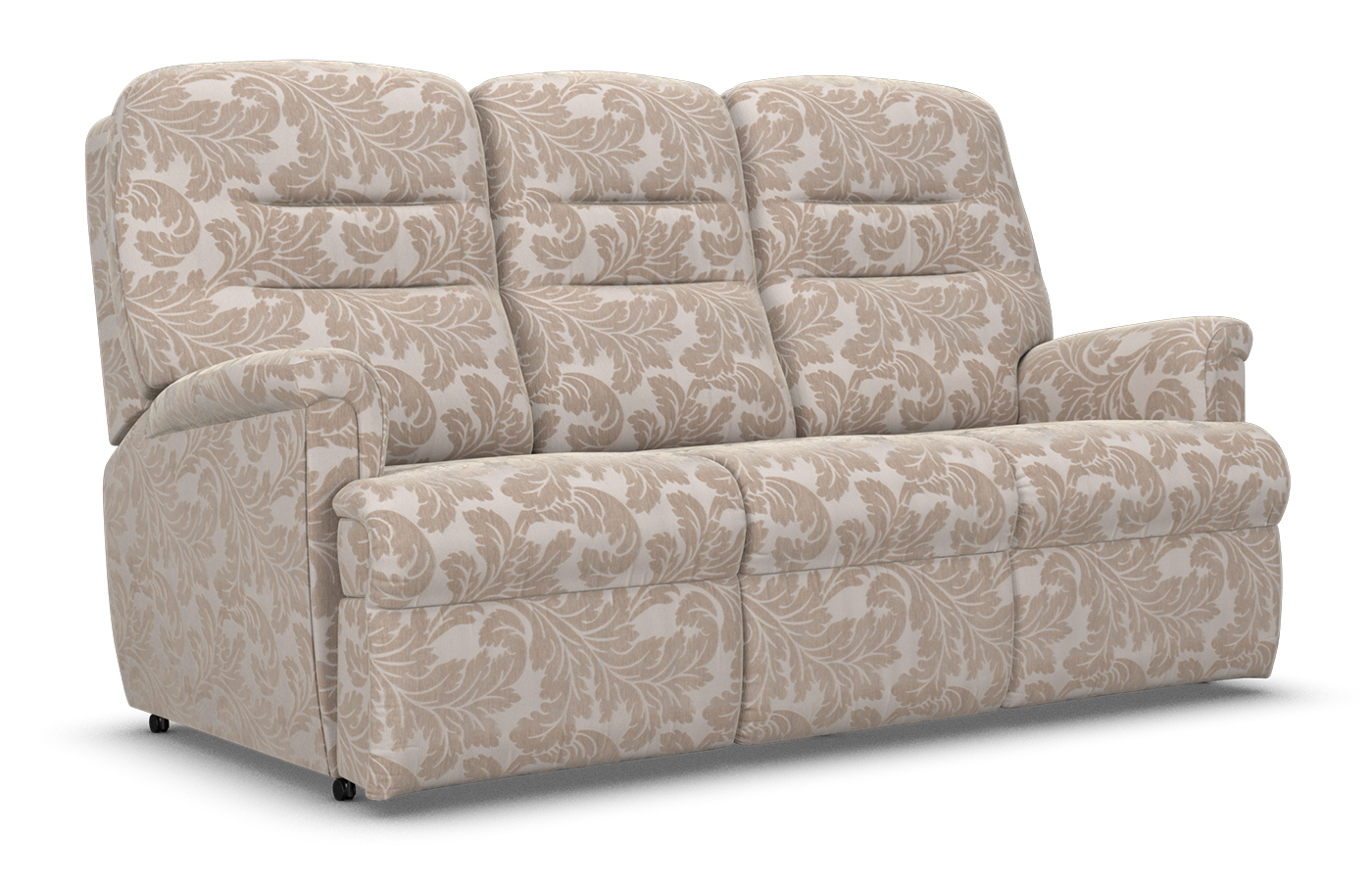 Three Seater Powered Recliner Sofa Available In Fabric