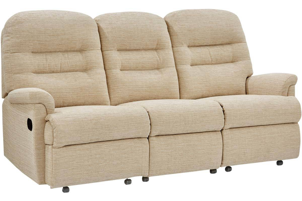 Penrith Three-Seater Rechargeable Powered Recliner Sofa