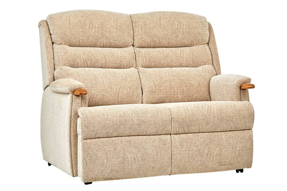 Ripley Two-Seater Comfort Sofa with Knuckles in Ivrea Sand