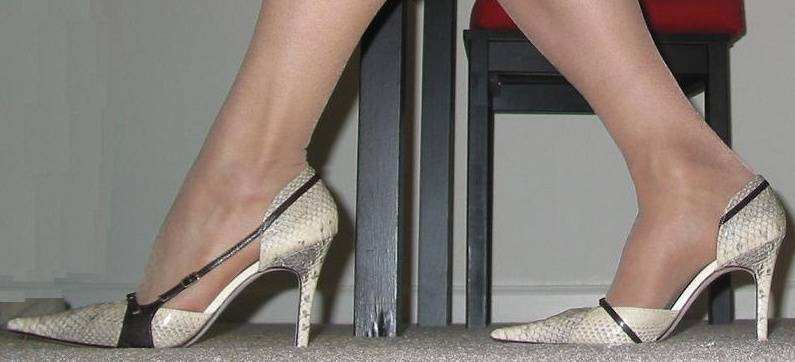 How can high heels affect your spine?