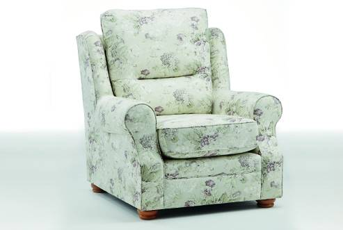 Montrose Standard Back Comfort Chair in Connie Soft Grey