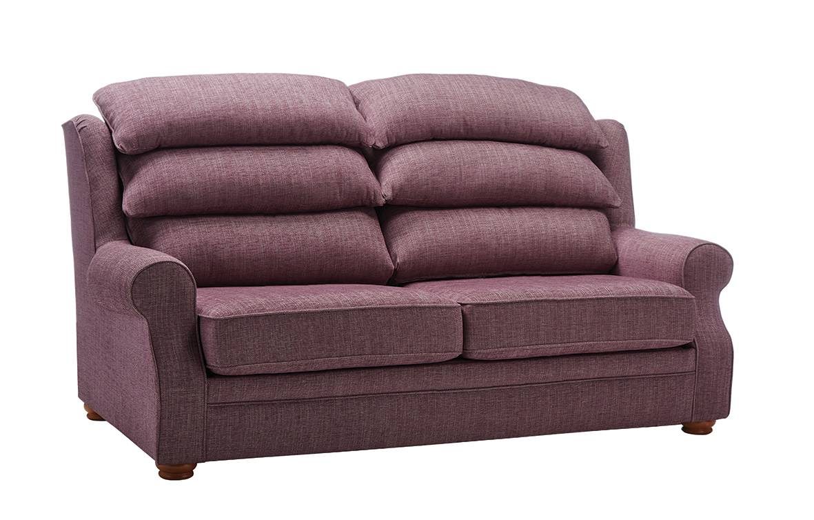 Montrose Waterfall Back Three-Seater Sofa
