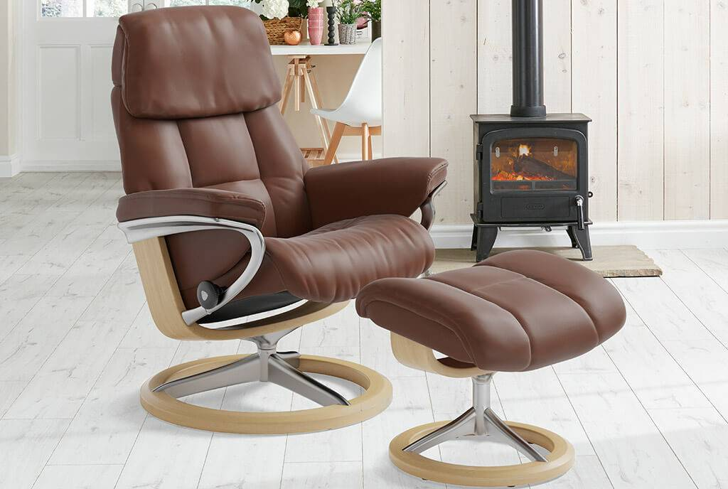 Stressless Ruby Signature Recliner