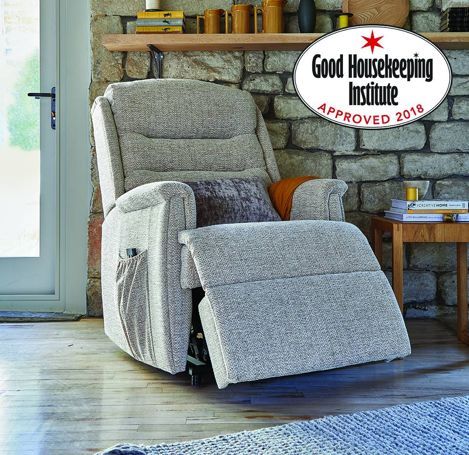 Ripley Dual Motor Riser recliner in Canillo Oatmeal