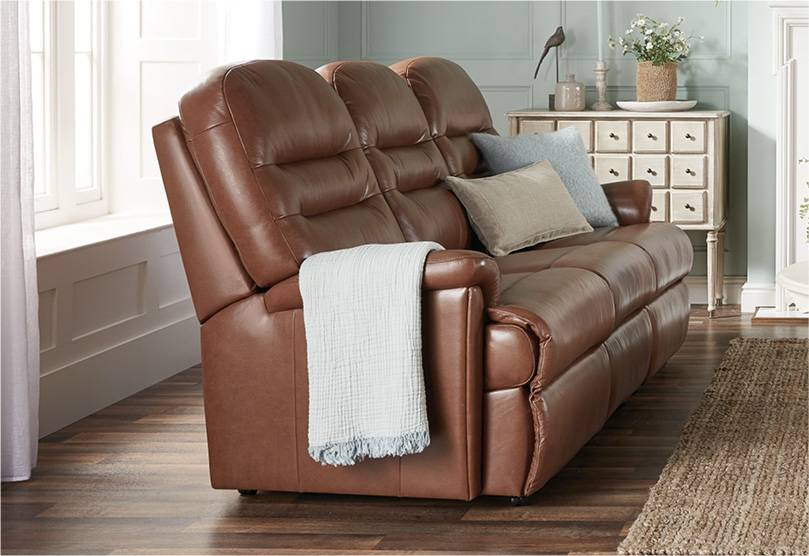 Penrith 3 Seater Catch Recliner Sofa