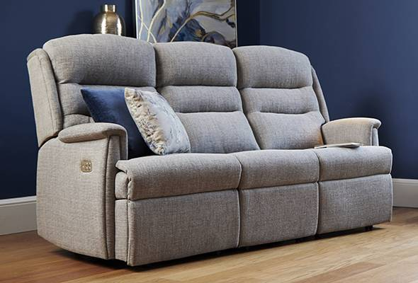 Ripley 3-Seater Power Recliner Sofa