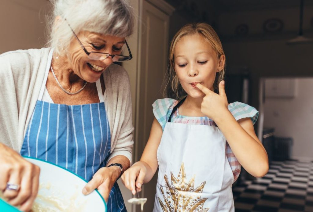 Baking With A Grandchild