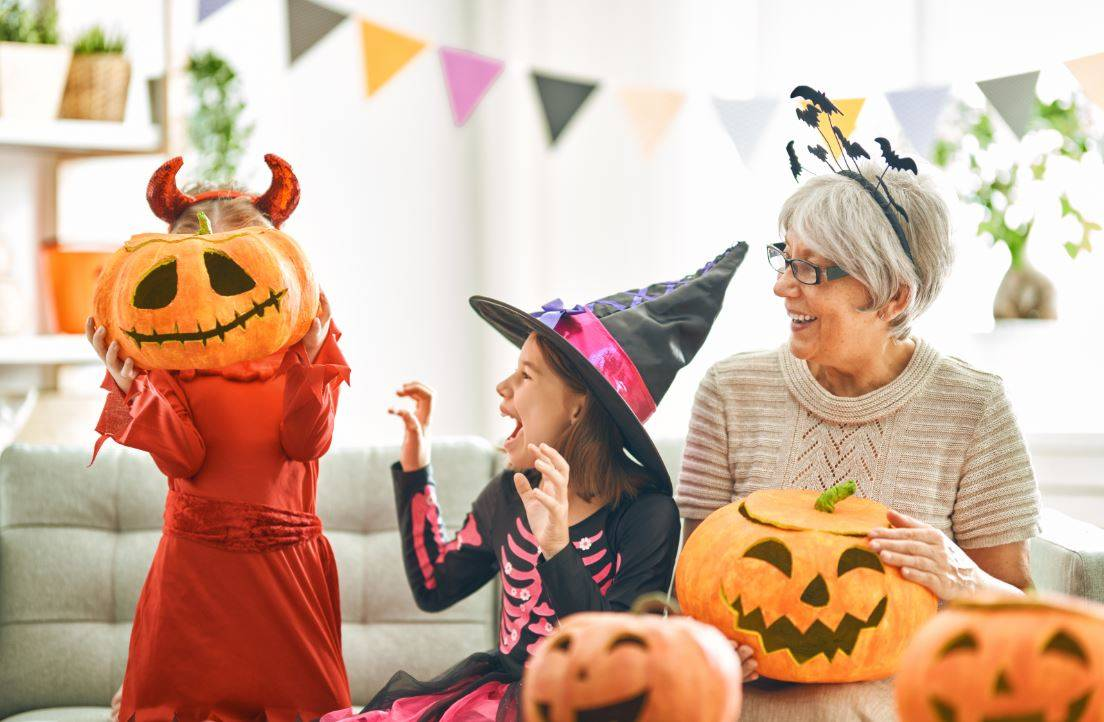 Host a Halloween Party for the Grandkids