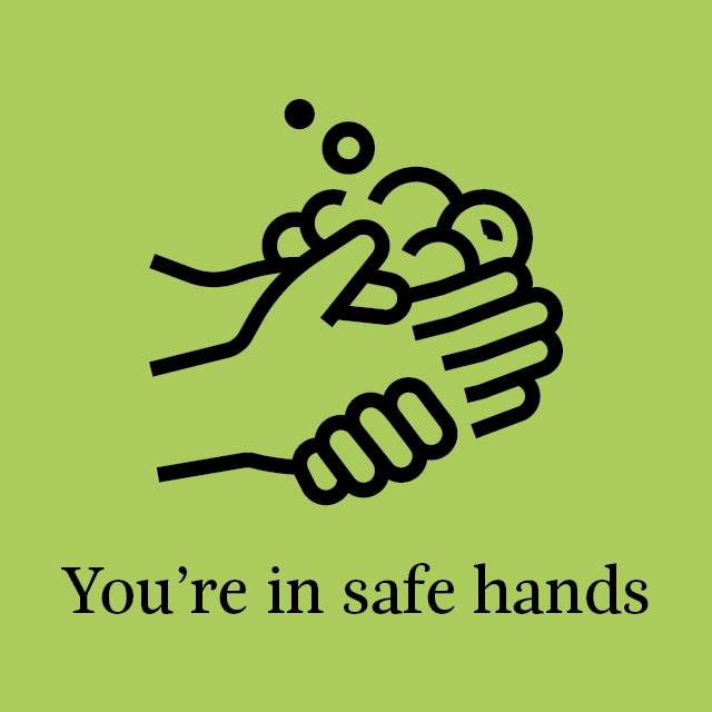 In Safe Hands Banner 640x640
