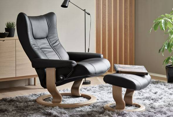 Stressless® Wing Classic Recliner