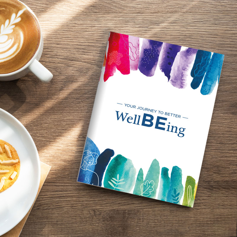 800x800 Wellbeing Book Mock Up