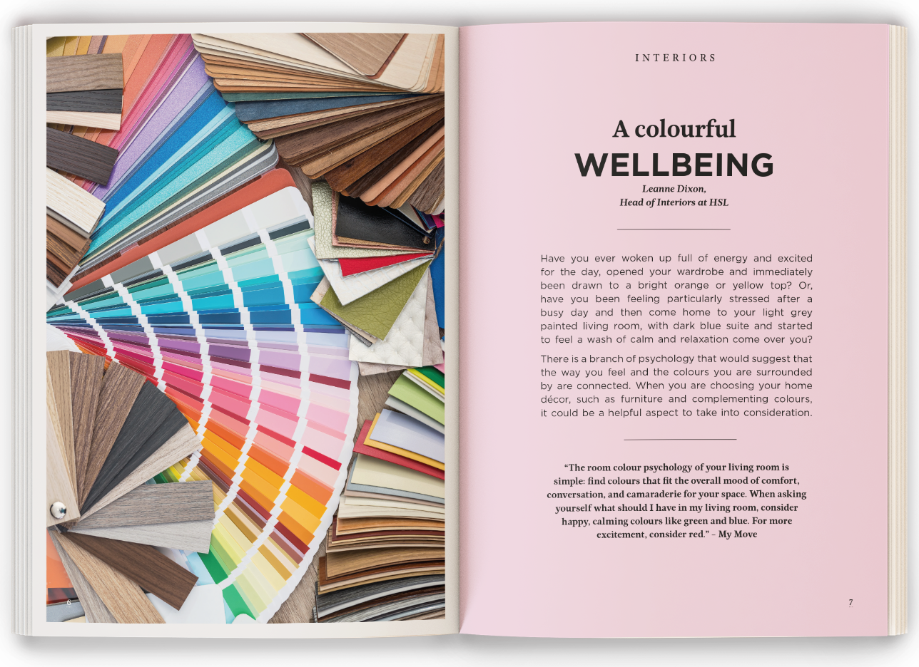 Colourful Wellbeing Mockup